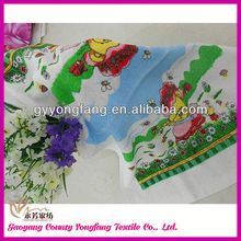 tea set accessories, brand towel gift, jacquard fabric rolled towel