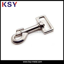 "1"" zinc alloy snap buckle hook for handbag"