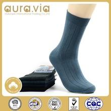Wholesale 100 cotton dress socks men china manufacturer