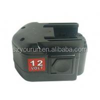 Cordless drill battery 12v Atlas Copco 3ah ni-mh