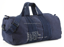 Canvas Material and Outdoor Sport Use fancy travel duffel bag