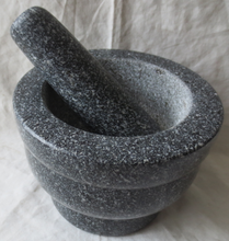 Natural Granite Stone Mortar and Pestle