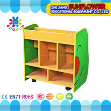 Animal Shape Wooden children Bookshelf Set School Furniture nursery school furniture Two Piece (XYH12141-2)