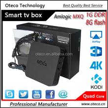 MXQ Android 4.4 TV BOX Quad Core Amlogic S805 KODI14.2 XBMC Full Load 1GB+8GB Smart TV Media Player