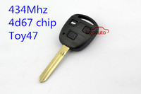 434Mhz 4d67 chip toy47 car key control remote key for Toyota