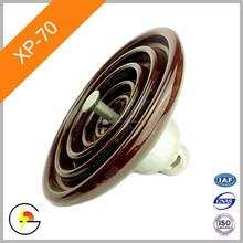 Suspension Disc (Standard Type) XP-70 (IEC U70BL) 70kn Porcelain Insulator