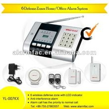 Government archives muniment file room intrusion alarm System rc YL-007KX