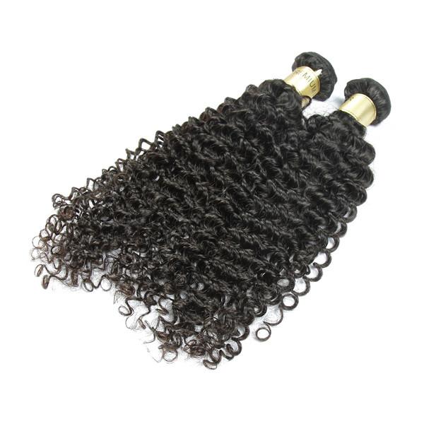 100% Uprocessed Cheveux Humains 8A Vierge Indiens Ondulés Bouclés Cheveux