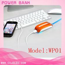 mini design portable emergency 3g wifi router power bank