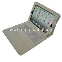 2015 Hot saling with buletooth keyboar case for ipad 4