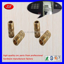 OEM/ODM Precision Brass Turned Auto Parts Accessories For Toy Cars parts Cnc Machining in Dongguan