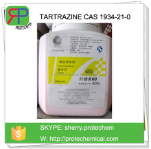 Food grade Synthetic Water Solubles colours citron yellow, tartrazine dye pigment