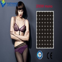 Top supplier high efficiency poly perlight solar panel 300w