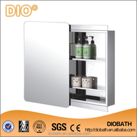 High Quality Stainless Bathroon Mirror Cabinet with Slide Door