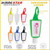 JS-03010A FDA approved spf 30 sunscreen lotion with colorful silicon holder
