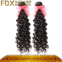 Full end brazilian human extension curly hair and supreme remy hair weave