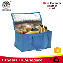 2015 customized non woven polyester oxford lunch cooler bag for promotion
