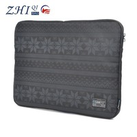 "China factory custom fashion unisex printed cotton canvas 15.6"" lifeproof laptop hard case for tablet pc"