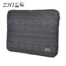 """China factory custom fashion unisex printed cotton canvas 15.6"""" lifeproof laptop hard case for tablet pc"""