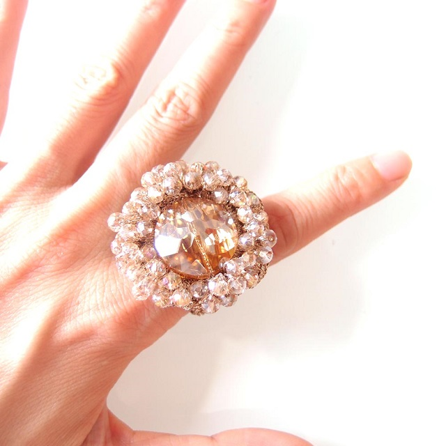 Häkeln kristall finger ringe-Ring-Produkt ID:891909579-german ...