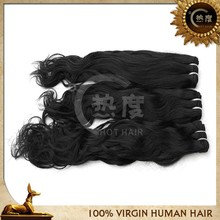 peruvian virgin hair weave natural wave nature color 100g/piece lowest price