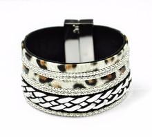 Hand boho woven bracelets indian,popular bracelets for fashion girl,leather wrap for cord bracelets