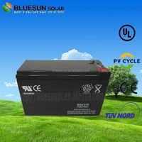 AGM/GEL lead acid battery discharge maintenance free 12v 7ah ups battery
