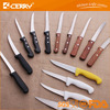 420J2 stainless stell plastice handle butcher knives and slaughter knives lwo price good quanlity