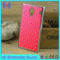 Case For Huawei X3 Bling Crystal Diamond Metal Case For Huawei Mobile Phone Cover