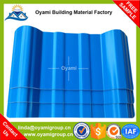 2.5mm thickness reinforced plastic roofng tiles for factory