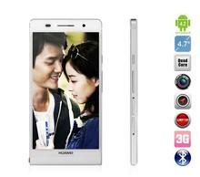 Huawei Ascend P6S Hisilicon K3V2 quad Quad Core Android Smart Mobile Phone Huawei P6 U06 16GB 3G Smartphone Dual SIM