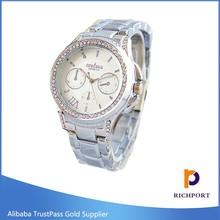 High Quanlity Cheap Price Watch Stainless Steel Wrist Watches For Ladies