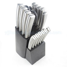 stainless steel knife set with steak knife