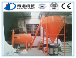 Low manufacturing cost china MINI dry mortar plant, dry batch premix plaster plant for sale
