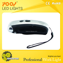 Factory Directly Provide 9 led torch,crank dynamo led torch for sale