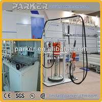 two component sealant spreading machine for triple glass