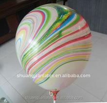 10 inch2.2g Rainbow decoration latex Balloon