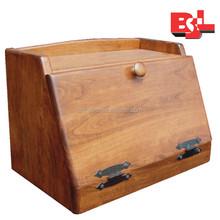 moden design bread storage box outside/bamboo bread box