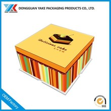 unique paper box packaging for food/sugar/chocolate/beverage customed printing