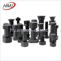 excavator track bolt and nut dimension M24*65