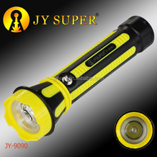 JY SUPER rechargeable led flashlight JY9090