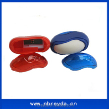 Promotion Stationery Rubber and Pencil Sharpener