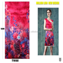 wholesale charming design fashion Sateen Fabric for Wedding Dress