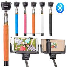 bluetooth control wireless monopod selfie stick extendable selfie-stick
