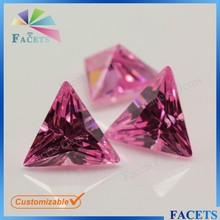 Pink Synthetic Stones Cubic Zirconia Price Natural Tourmaline Stone for Sale