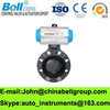 Pneumatic PVC Butterfly Valve / Water Valves / Gas and Oil Valve