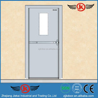JK-F9005 fireproof wood door / ul listed fire door / fire rated door handles