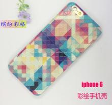 for iphone 6 plus painted iPhone case /Art Design Custom phone case for iphone 6