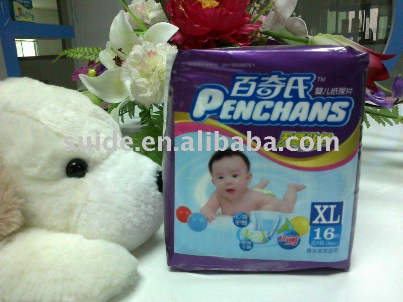caliente-venda al bebé napy