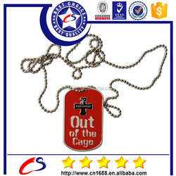 2015 New product metal dog tag name tag with metal tag making machine